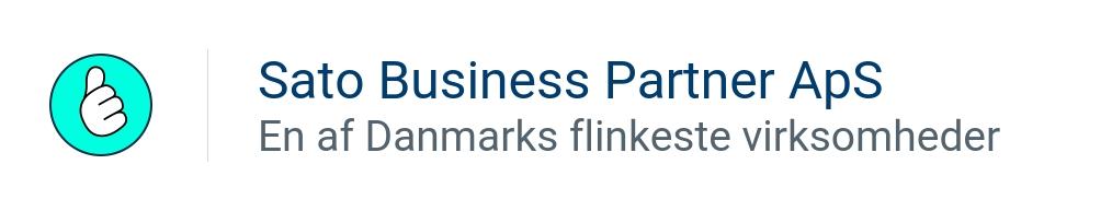 SATO Business Partner ApS - En af Danmarks flinkeste virksomheder