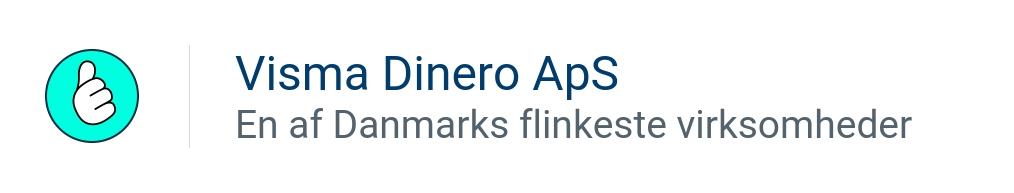 DINERO REGNSKAB ApS - En af Danmarks flinkeste virksomheder